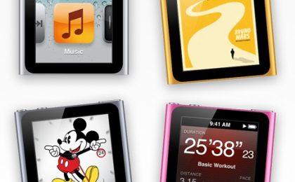 Il nuovo iPod Nano punta su fitness e orologio