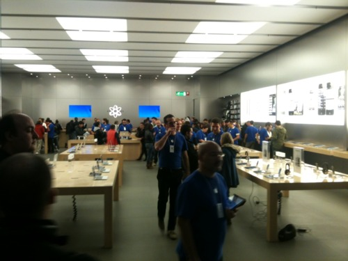 apple store semivuoto