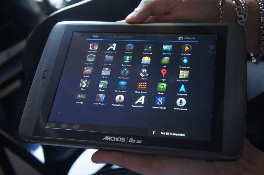 Archos G9: video anteprima del nuovo tablet