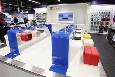 Ecco Chrome Zone: un mini Google Store a Londra