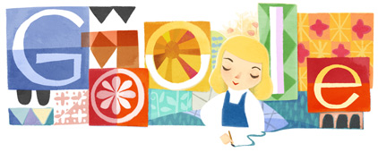 Google Doodle per Mary Blair a 100 anni dalla nascita