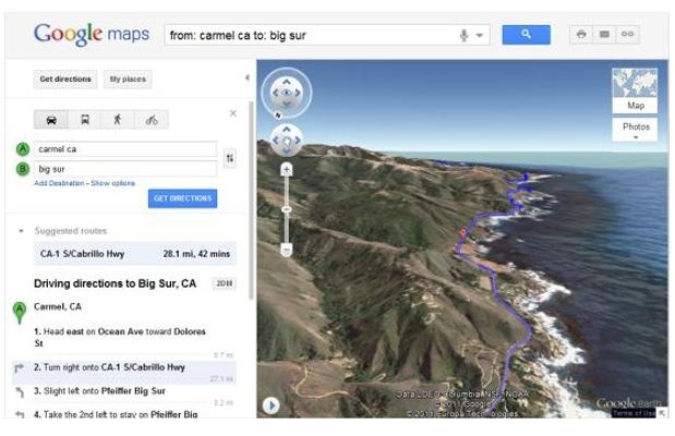 Google Maps da esplorare in 3D volando in elicottero!