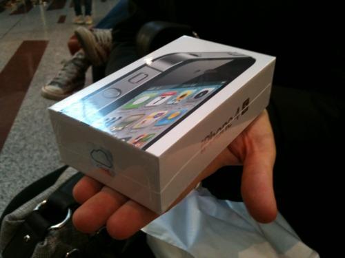 iphone 4s box confezione