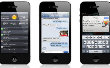 Nuovo iPhone 4S e le altre sorprese del keynote: processore A5, Apple Siri, iCloud e iOS 5