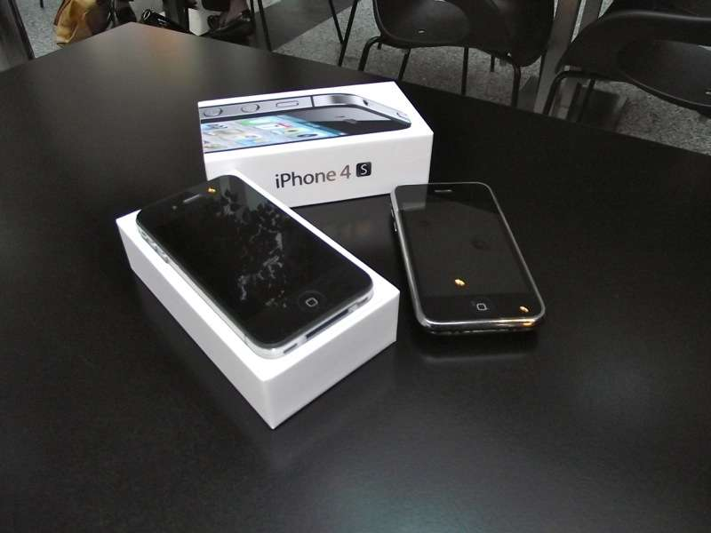 iphone 4s unboxing