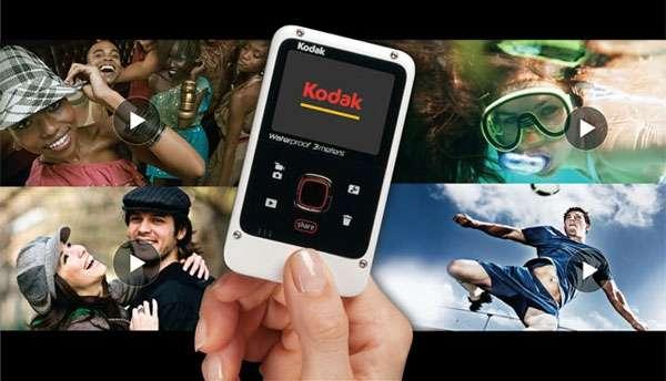 La nuova videocamera Kodak resistente all'acqua e economica