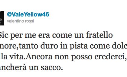 Marco Simoncelli è morto: il ricordo viaggia su Twitter e Youtube