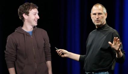 Steve Jobs ammirava Mark Zuckeberg e il progetto Facebook