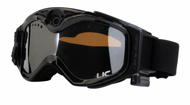 Le maschere da neve con fotocamera digitale, per l'inverno hitech