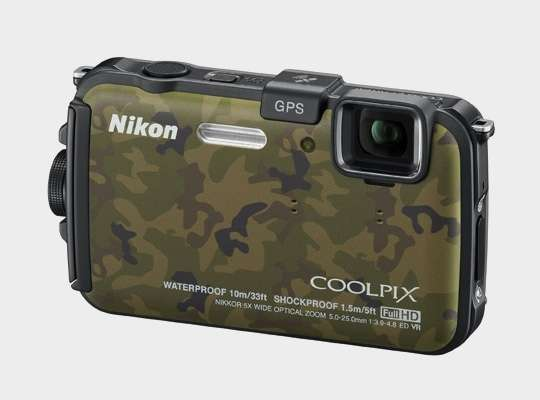 "Nikon Coolpix Aw100, la super fotocamera ""militare"""