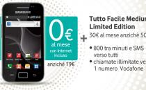 Samsung Galaxy Ace con Vodafone: chiamate, internet e SMS tutto incluso