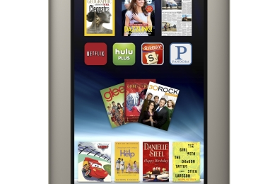 Barnes & Noble Nook Tablet: la risposta a Amazon Kindle Fire