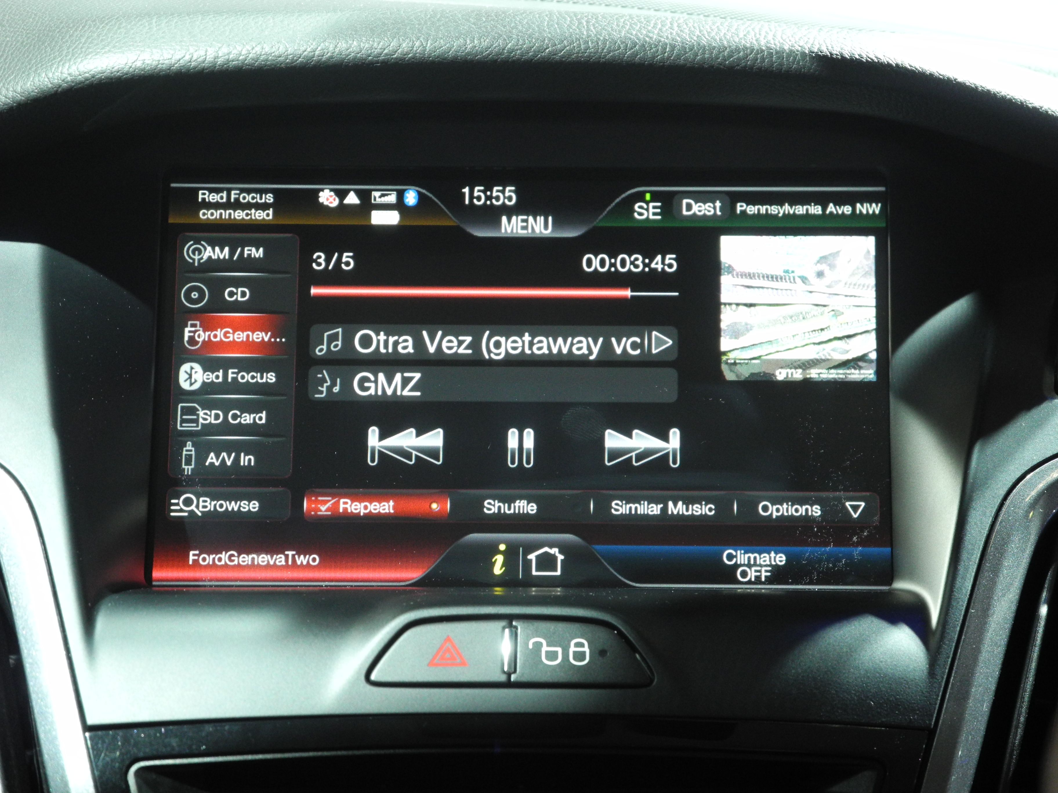 Ford_Sync_musica