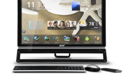 Acer AZ, all-in-one PC lucidi e svelti