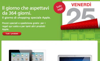 Black Friday 2011: Apple sconta tutto, tranne iPhone 4s