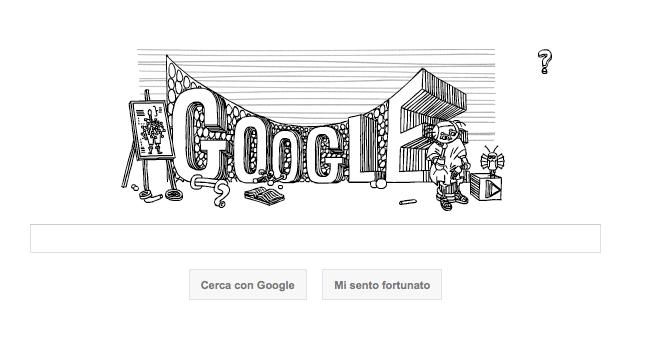 Google Doodle per Stanislaw Lem: spettacolare fumetto interattivo
