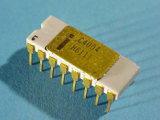 Il primo microprocessore Intel compie 40 anni, era italiano inside