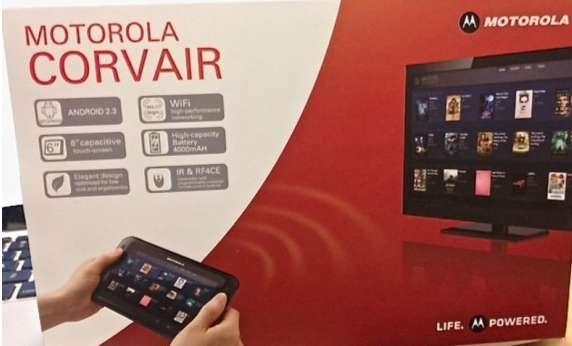 Motorola Corvair: tablet o telecomando?