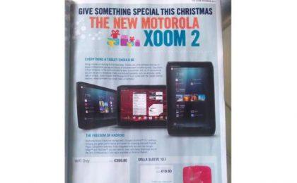 Motorola Xoom 2: lo puoi acquistare da 399 euro
