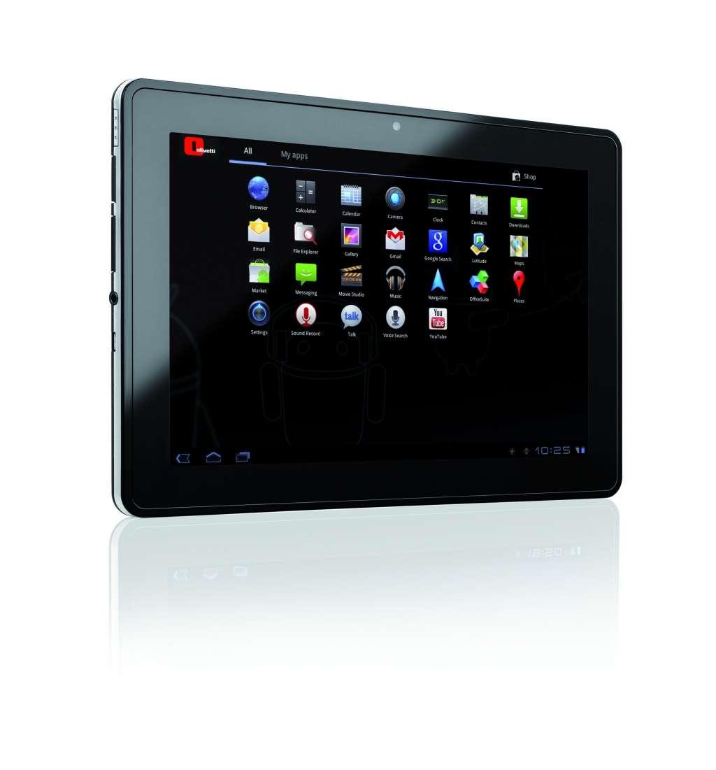 """Il tablet Olivetti Olipad 110 e il suo prezzo """"prudente"""""""