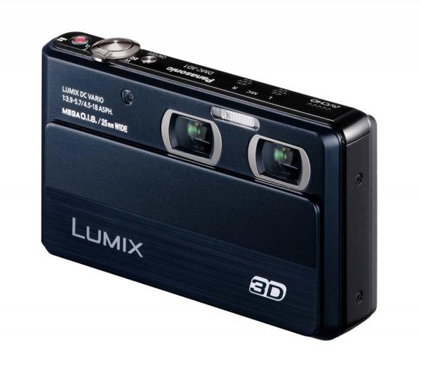 Panasonic DMC-3D1: la fotocamera 3D sottiletta