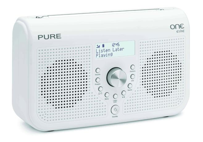 Le radio digitali Pure ONE Serie II per l'ascolto flessibile