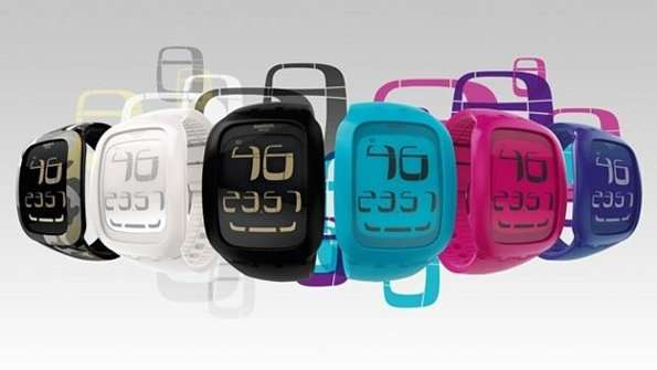 Idee regalo Natale: Swatch Touch, l'orologio touchscreen