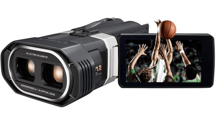 videocamera 3d jvc