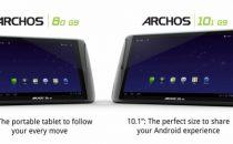 Anche gli Archos G9 pronti a passare a Android 4