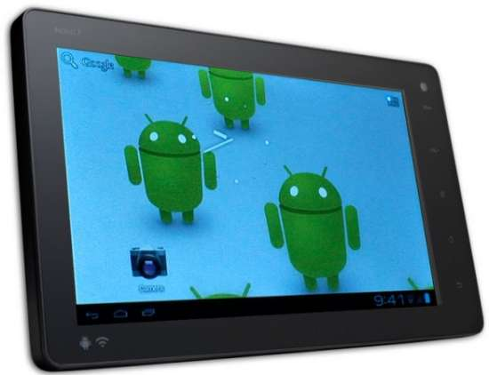 Tablet Android 4 ICS sotto i 100 euro