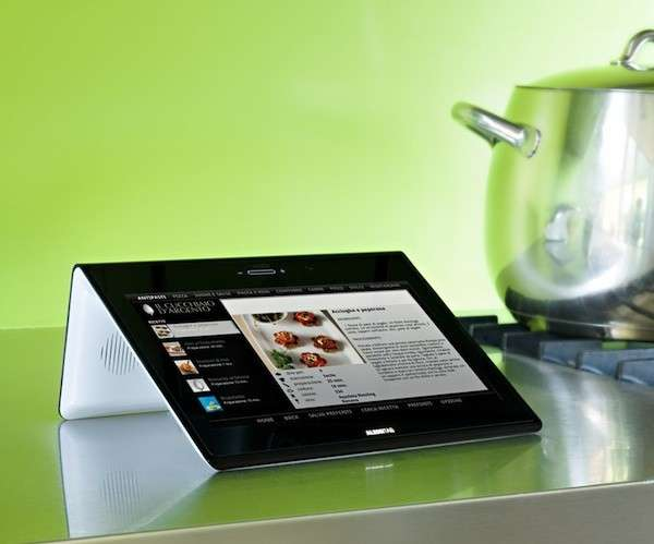 Idee regali Natale: AlessiTab 2, il tablet per la cucina