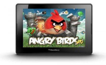 Angry Birds su BlackBerry PlayBook: il canto del cigno arrabbiato