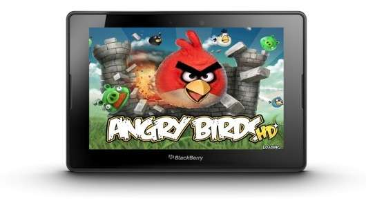 Angry Birds su BlackBerry PlayBook: il canto del cigno arrabbiato