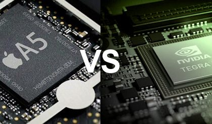 Nvidia Tegra 3 non è così più potente di Apple A5?