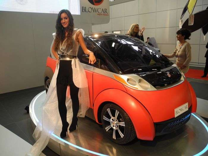 BlowCar, la microcar gonfiabile made in Italy