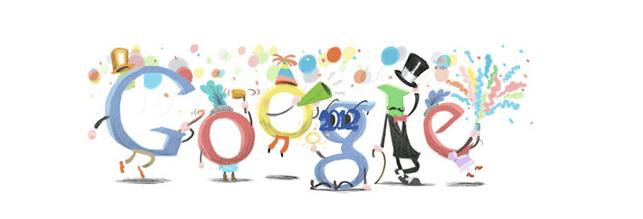 Google festeggia la Vigilia di Capodanno: riviviamo un anno di Doodle