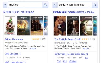 Google Movie Search: cerca i film a razzo dallo smartphone