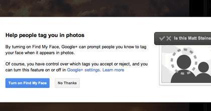 Google+ apre al riconoscimento facciale rispettoso