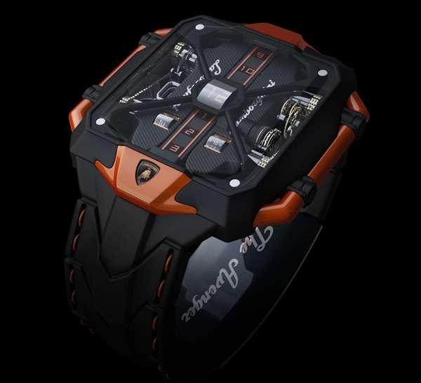 L'orologio hitech Lamborghini per veri Iron Man