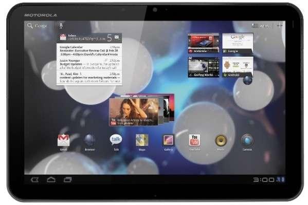 Motorola Xoom 3G si aggiorna finalmente a Android 3.2