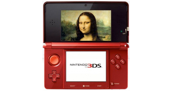 Nintendo 3DS: la guida per scoprire il Louvre in 3D
