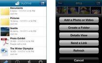Lottimo SkyDrive debutta su iPhone e Windows Phone