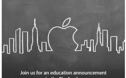 Niente iPad 3, l'evento Apple del 19 gennaio parlerà di educazione