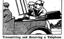 Il primo telefono senza fili per lauto? Nel 1920