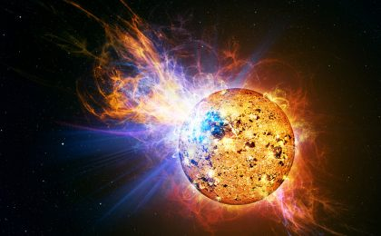 L'eruzione solare perfetta non danneggerà la tecnologia terrestre