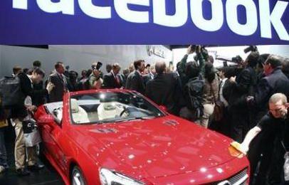 Facebook sale sulle Mercedes con un'app anti incidente