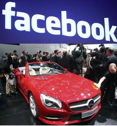 Facebook sale sulle Mercedes con un'app anti incidente