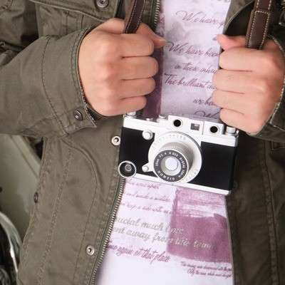 iPhone diventa fotocamera vintage con la custodia Gizmon iCA