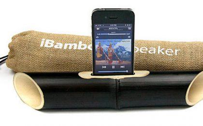 Per San Valentino regala lo speaker di bamboo per iPhone che fa a meno dell'elettricità