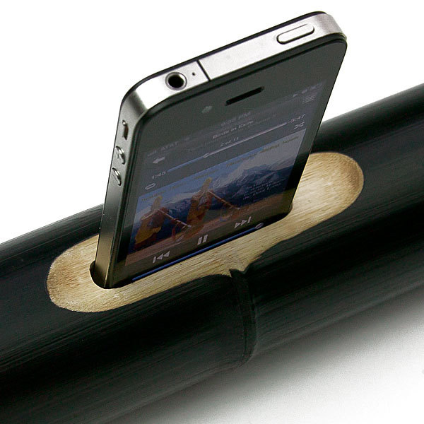 ibamboo iphone dock
